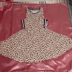 Super cute Cheetah print skater dress from PINK